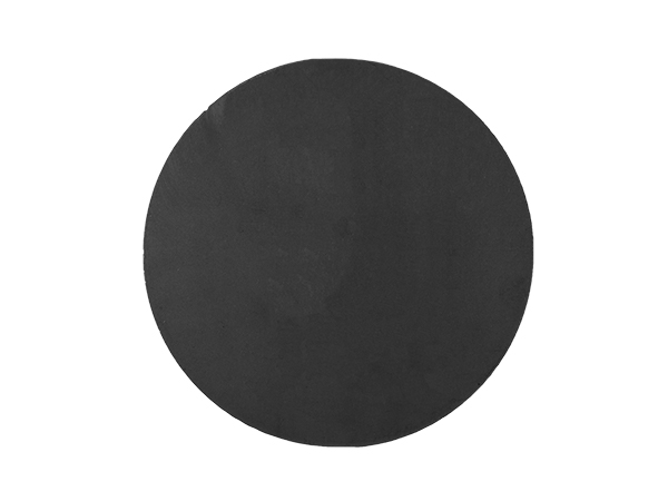 Plasma cut 6.5-inch circle