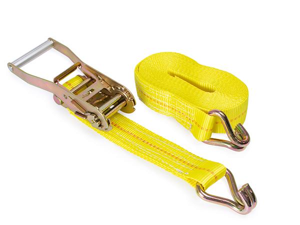 Ratchet strap j-hook