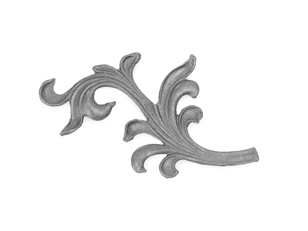 Steel drop forged leaf