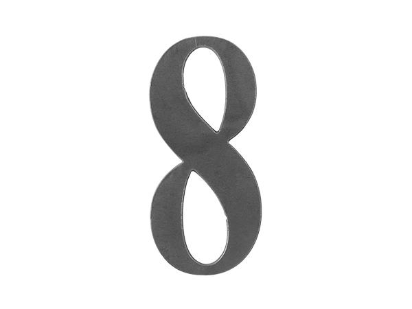 Steel number 8